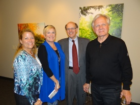 Paralegal Beth Kothe, Terri Bowman, George and Richard Bowman.