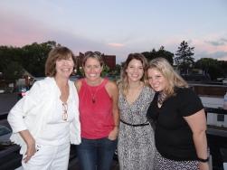 Lisa, Alana Bassin, Rachelle Velgersdyk, and Katie Dockter